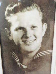 Judge Ralph Smith,1943 Navy. Father of Daniel Smith of San Diego Defenders.